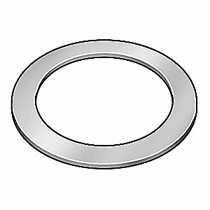 "Arbor Shim, 0.375""I.D./0.625"" O.D.,  Thickness (In.): 0.0100"", 10PK"