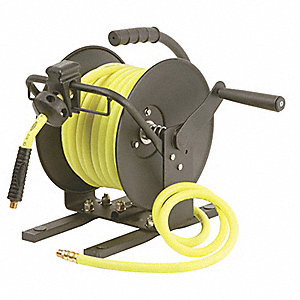 legacy 50 ft hand crank hose reel 3 8 hose inside dia. Black Bedroom Furniture Sets. Home Design Ideas