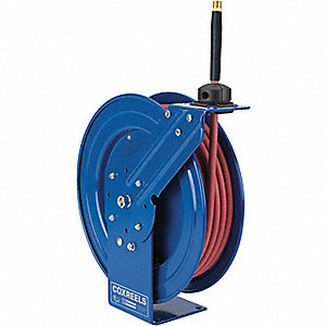 HOSE REEL,SPRING RETURN,1/2IN ID X