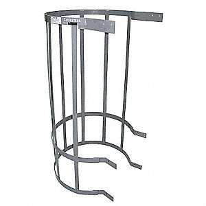 "Ladder Safety Cage, Superior Section, 5 ft. Overall Height, 30-1/2"" Inside Dia."