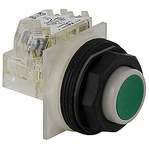 Non-Illuminated Push Button,30mm,Plastic