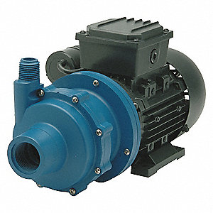 1/8 HP Polypropylene 115V Magnetic Drive Pump, 21 ft. Max. Head