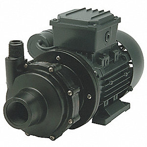 1/2 HP PVDF 230V Magnetic Drive Pump, 29 ft. Max. Head