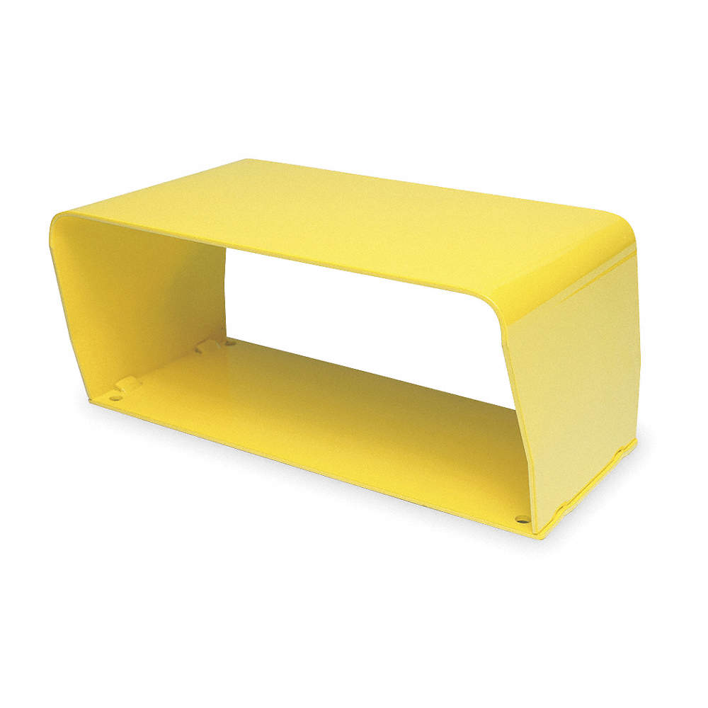 Brilliant Conntrol Yellow Steel Foot Switch Guard 5 3 4 Length 11 Gmtry Best Dining Table And Chair Ideas Images Gmtryco