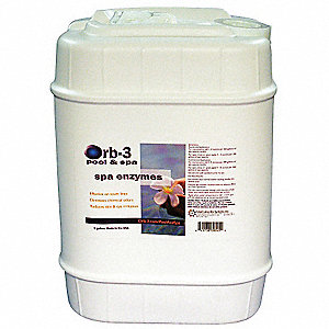 Concentrated Spa Enzymes,5 gal.