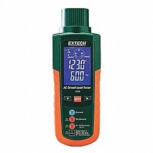 Extech Ac Circuit Analyzer 90 To 240v 5gcc8 Ct70 Grainger