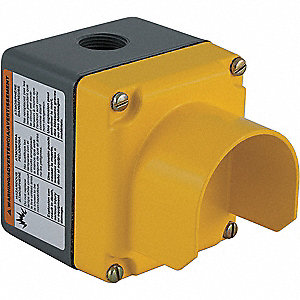 Pushbutton Enclosure, 4 NEMA Rating, Number of Columns: 1