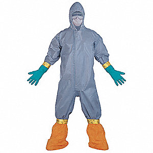 HazMat Personal Protection Kit, Size:  S/M, Number of Components: 8