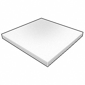 Foam Sheet,Crosslink,Poly,1x24x24,Wht