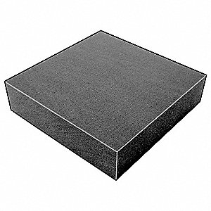 Foam Sheet,300135Poly,Charcoal,1/2x24x24