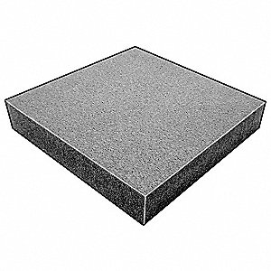 "Water-Resistant Closed Cell Foam Sheet, 220 Polyethylene, 1/4"" Thick, 24"" W X 54"" L, Charcoal"