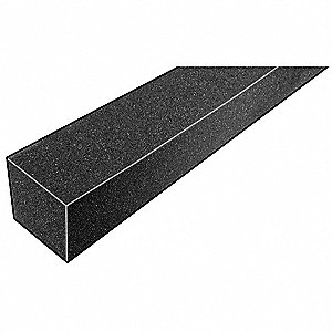 Foam Strip,3010 Poly,1 1/4x1 1/4x42 In