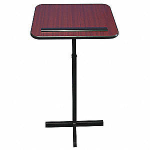 Lectern Stand,Adjustable,30-44,Mahogany