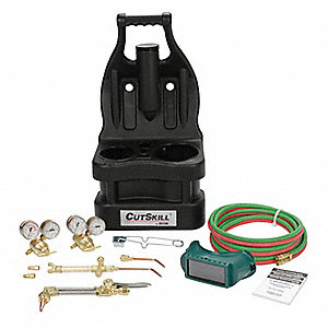Brazing And Welding Kit, CA1260, 221-05FP Fuel, 201-05FP Oxygen, Acetylene Fuel, 103-01FP Torch Hand