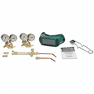 Brazing And Welding Kit,  , 221-05FP Fuel, 201-05FP Oxygen, Acetylene Fuel, 103-01FP Torch Handle