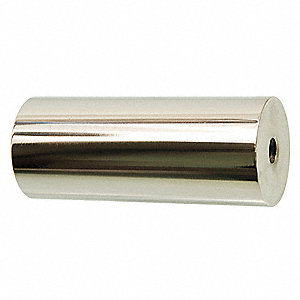 "3/4"" 18-8 Stainless Steel Round Standoff with Brite US32 Finish, Silver&#x3b; PK2"
