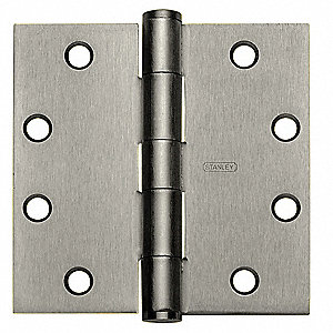 Full Mortise Hinge,4inH.x4inW.,Primed