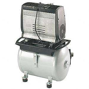 6.6 gal. 230VAC Oil-Less Rocking Piston Electric Air Compressor