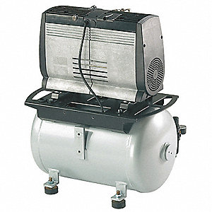 10.6 gal. 230VAC Oil-Less Rocking Piston Electric Air Compressor