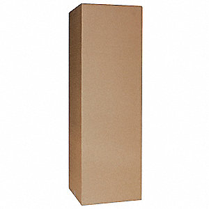 "Multidepth Shipping Carton, Brown, Inside Width 11"", Inside Length 13"", Inside Depth 5"", 65 lb."