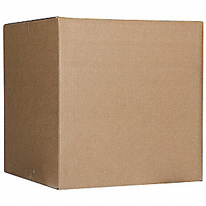 "Shipping Carton, Brown, Inside Width 16"", Inside Length 23"", Inside Depth 18-5/8"", 65 lb., 1 EA"