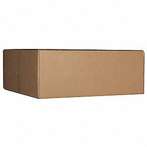 Multidepth Shipping Carton,Brown,Single
