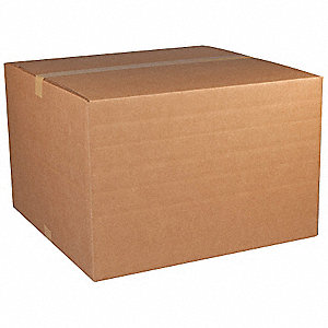 "Multidepth Shipping Carton, Brown, Inside Width 16"", Inside Length 25"", Inside Depth 6"", 65 lb."