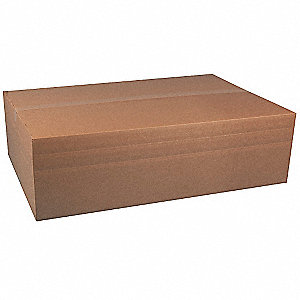 "Multidepth Shipping Carton, Brown, Inside Width 14"", Inside Length 30"", Inside Depth 10"", 65 lb."