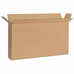 SHIPPING CARTON,BROWN,53 IN. L,7 IN