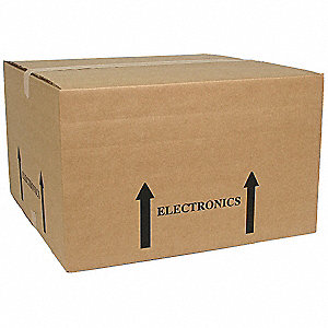 Shipping Carton,Brown,20 In. L,20 In. W