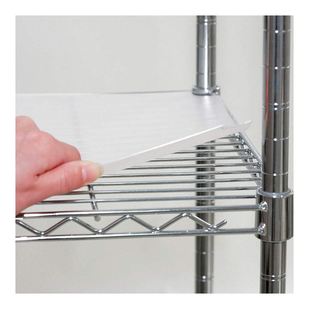 GRAINGER APPROVED Shelf Liner,48 x 18 in.,Clear,PK4 - 5GRF6|5GRF6 ...