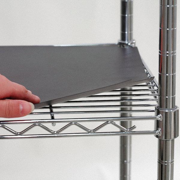 Grainger Approved 48 Quot X 24 Quot Plastic Shelf Liner Black