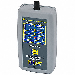 AC Current Logger,1 Channel,BNC Conn