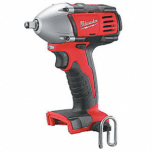 "3/8"" Cordless Impact Wrench, 18.0 Voltage, 166 ft.-lb. Max. Torque, Bare Tool"