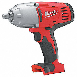 "1/2"" Pin Detent Cordless Impact Wrench, 18.0 Voltage, 450 ft.-lb. Max. Torque, Bare Tool"