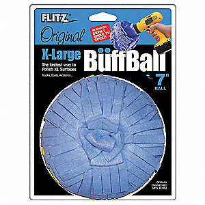 BUFFING BALL,7 IN DIA.