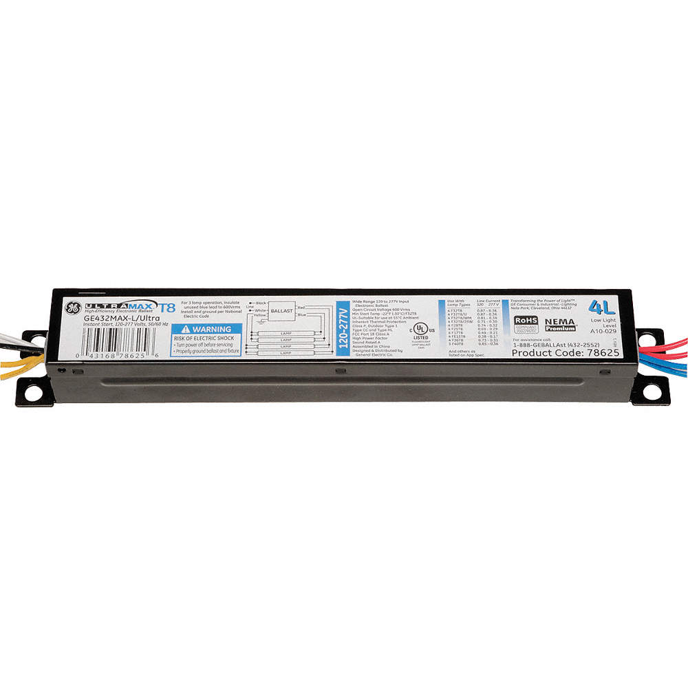 Ge Lighting Electronic Ballast 32 Max Lamp Watts 120 277 V Voltage Output Wiring Diagram 277v Zoom Out Reset Put Photo At Full Then Double Click