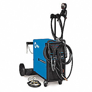 MIG Welder, Millermatic 252 w/Spool Series, Input Voltage: 240/480/575VAC, MIG/Flux Core