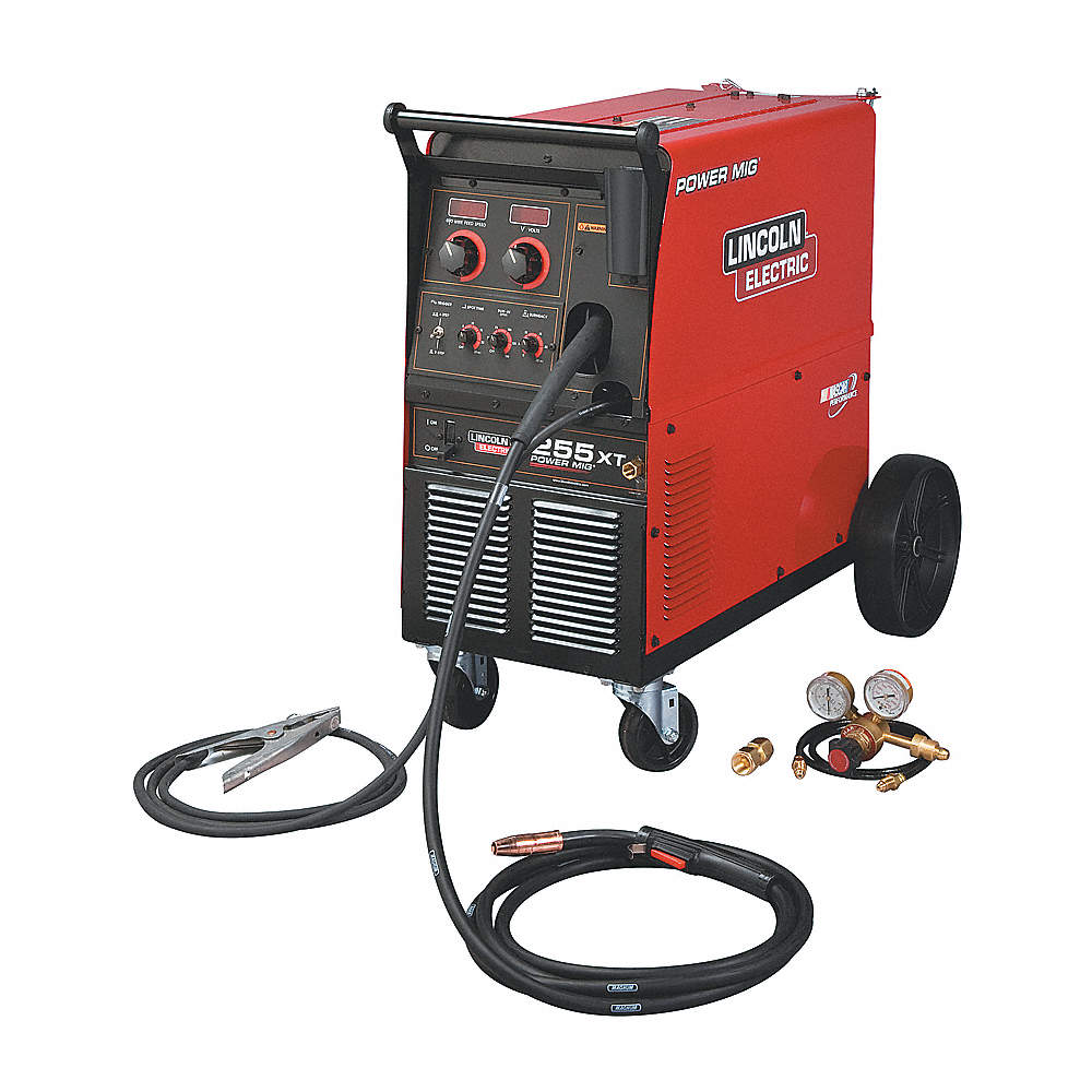 LINCOLN ELECTRIC MIG Welder, Power MIG 255XT Series, Input
