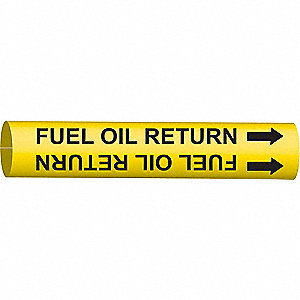 PIPEMARKER 48224 FUEL OIL RETURN