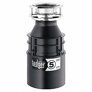 DISPOSER,WASTE,1/2 HP