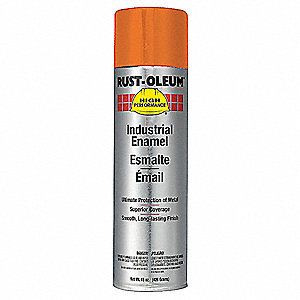 Rust Oleum Spray Paint Safety Orange 15 Oz 5h899 V2155838 Grainger