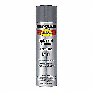 High Performance Rust Preventative Spray Paint in Gloss Dark Machine Gray for Metal, Steel, 15 oz.