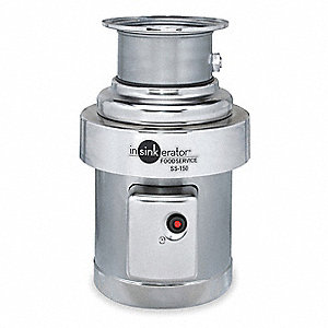 1-1/2 HP Garbage Disposal, 208-230/460 Voltage