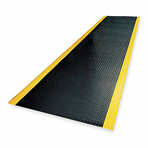 Antifatigue Runner, PVC Sponge, 18 ft. x 3 ft., 1 EA