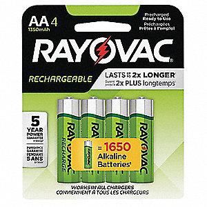 Rechargeable Alkaline Batteries >> Rayovac Rechargeable Battery Aa Nickel Metal Hydride Recharge