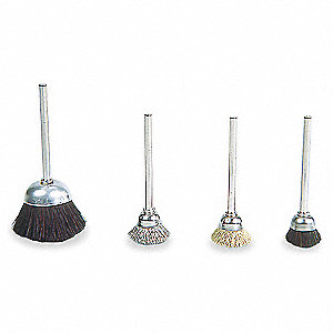 CUP BRUSH,5/8 IN,PK12