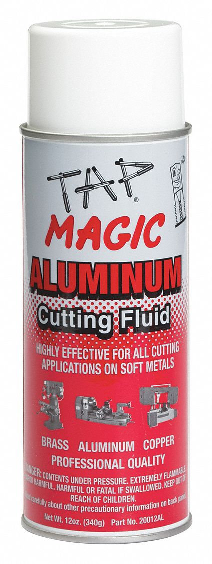 Cutting Oil,  Container Size 12 oz,  Aerosol Squeeze,  Light Yellow