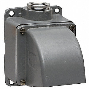 "4-Way Angle Back Box,60/100A,2"" Hub,15"