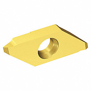 External Threading Insert, MATR, 3-Sharp Edge Geometry, 1025